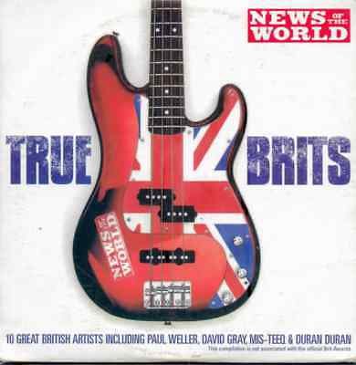 TRUE BRITS - PROMO CD / MIS-TEEQ, DURAN DURAN, FEEDER, PAUL WELLER, MOLOKO ETC