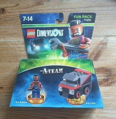 NEW: The A-Team Fun Pack - LEGO Dimensions - 71251 - Wii/PS3/PS4/XBOX