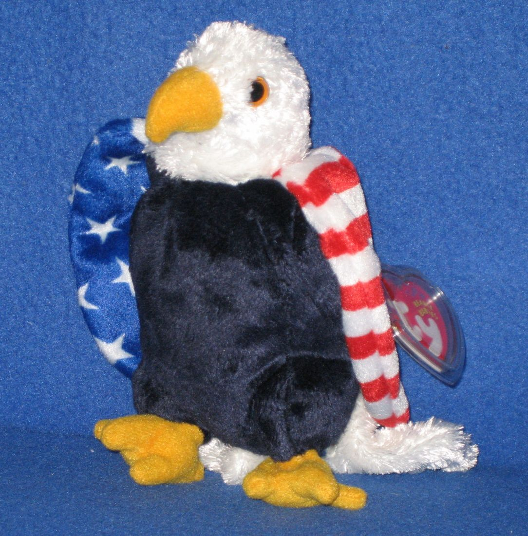 soar the eagle beanie baby store exclusive