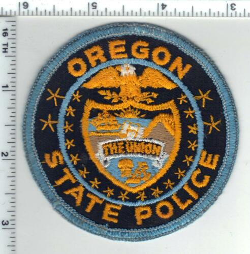State Police (Oregon) Shoulder Patch - new from the Early 1970