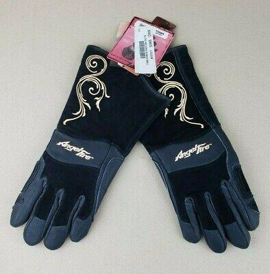 Black Stallion Angel Fire Bsx Ls50 Grain Pigskin Welding Gloves Womens Small
