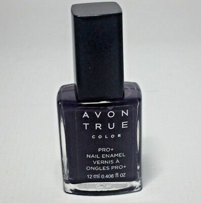Avon True Color Nail Polish MIDNIGHT PLUM .406 Fl Oz New Unsealed