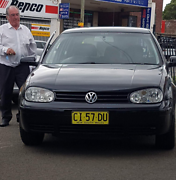 2002 Black Volkswagen sedan The Entrance Wyong Area Preview