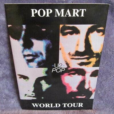 Usado, Rare U2 1997 POP MART POPMART World Tour CONCERT PROGRAM BOOK European Leg NM+/M comprar usado  Enviando para Brazil