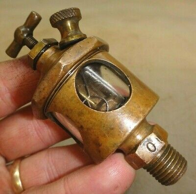 Rod Oiler For Steam Or Gas Engine Old Brass Lubricator Unknown Maker Antique