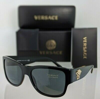 Brand New Authentic Versace Sunglasses Mod. 4275 GB1/87 58mm Black Frame