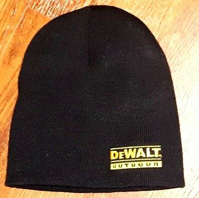 █▓▒░ DEWALT OUTDOOR WINTER TOQUE █ PROMO HAT █ NEW █ POWER TOOL LAWN GARDEN ░▒▓█