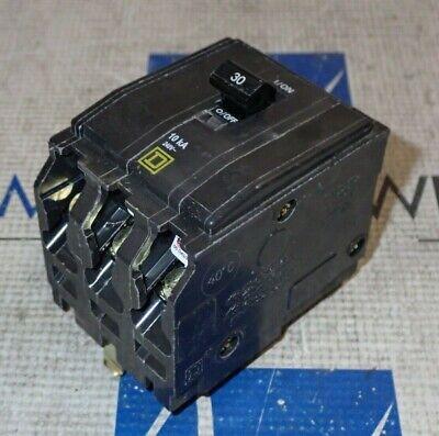 Square D Qo330 3 Pole 30 Amp 240v Plug-in Circuit Breaker