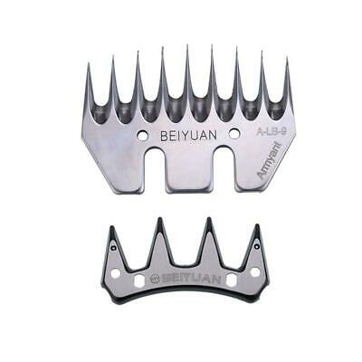 9 Teeth Straight Blade Stainless Steel Strength for Sheep//Goat Shearing Clipper