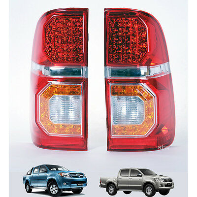 FIT Toyota Hilux SR 5 6 Vigo Ute Tail Lamp Light Led KUN Led Pickup Tgn 11-15