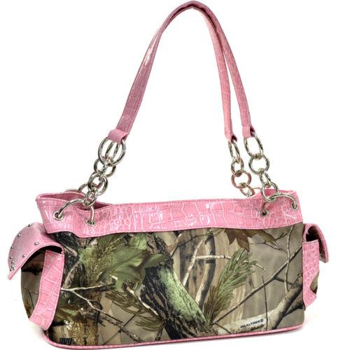 Womens Handbags Camouflage Shoulder Hobo Bags Tote Purse