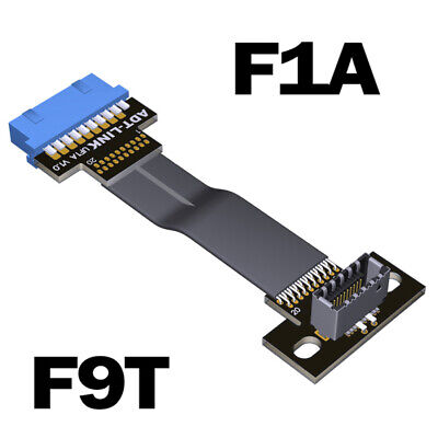 ADT-Link Type C USB3.1 Front Panel Socket 19Pin to TYPE-E 20Pin Header...