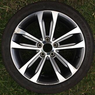 1x Ford Falcon FG FG-X XR6 XR8 XR6T alloy rim wheel 18 inch Epping Whittlesea Area Preview