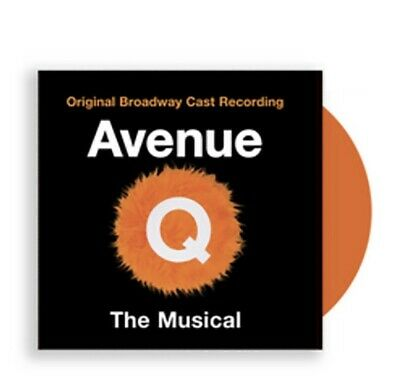 Avenue Q- The Musical Exclusive Orange Vinyl, used for sale  Seattle