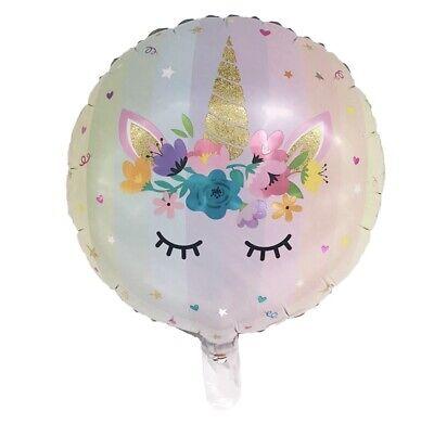 """unicorn 18"""" Pastel  2-balloons USA (Pastel Balloons)"""