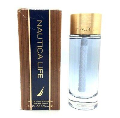 Nautica Life by Nautica 3.4 oz / 100 ml eau de toilette spray men Open Box T6