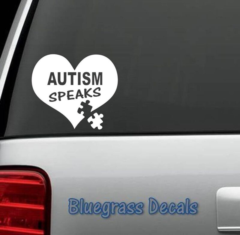 A1007 AUTISM SPEAKS DECAL STICKER for Car Truck SUV Van LAPTOP WALL WINDOW ART