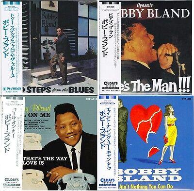 BOBBY BLAND-LOT OF 4 CD-JAPAN MINI LP CD SET 218
