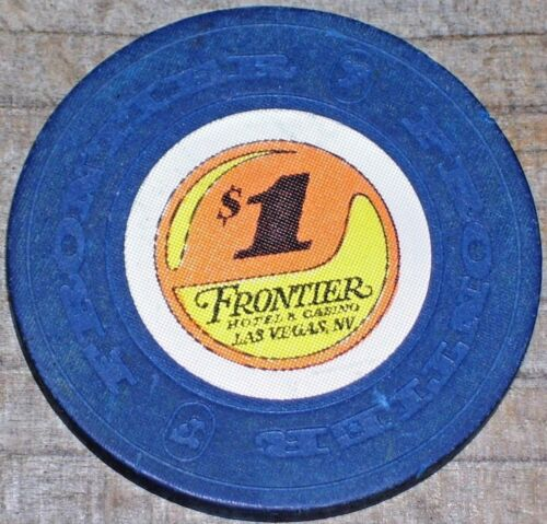 $1 6th EDITION GAMING CHIP FROM THE FRONTIER CASINO LAS VEGAS NV