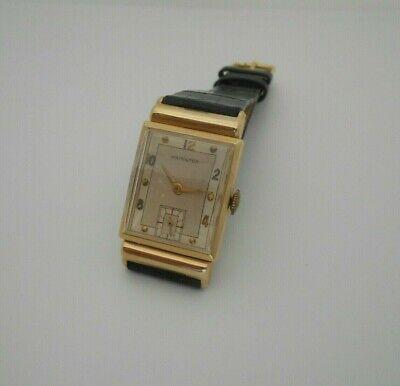 Hamilton Barton, 14K Solid Gold Case