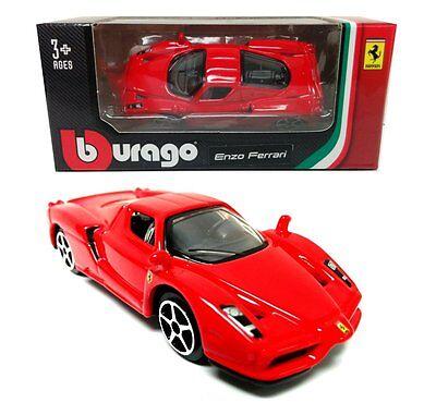 Bburago 1:64 Ferrari Enzo Race & Play Diecast Car Model 18-56100
