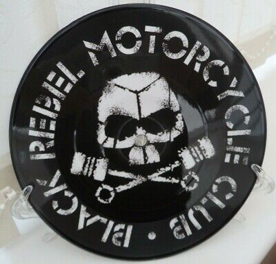"*Brand New*  BLACK REBEL MOTORBIKE CLUB 7"" Picture Disc Playable Record"