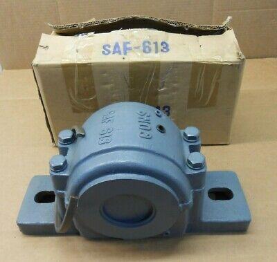 1 Nib Consolidated Skf Saf-613 4 Bolt Split Pillow Block Housing 2-316 Bore