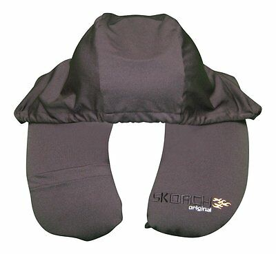 THE BEST 2 in 1 TRAVEL PILLOW WITH HOODIE,Cell Phone Pocket, Ear