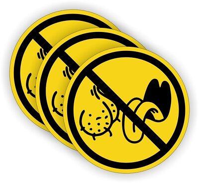 3 - No Bag Lickers Funny Hard Hat Stickers Motorcycle Welding Helmet Decals