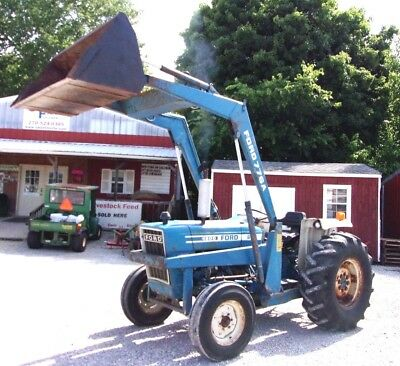 Used Ford 4600 Tractor With Loader Can Ship 1.85 Loaded Mile