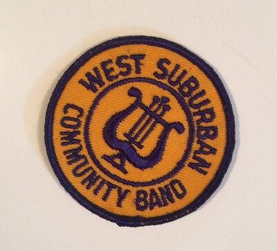 WEST SUBURBAN COMMUNITY BAND PATCH ](Suburban Community)