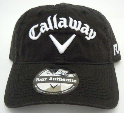 Callaway Golf Cap Tour Authentic Adjustable mit Klettverschluss one size schwarz