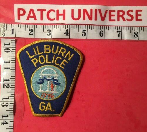 LILBURN GA  POLICE SHOULDER PATCH  T045