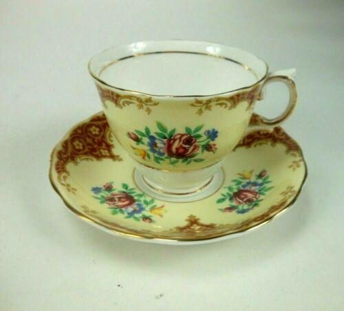 Tea Cup and Saucer Colclough Bone China