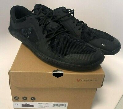 Vivobarefoot Men's Primus Lite Black size 47