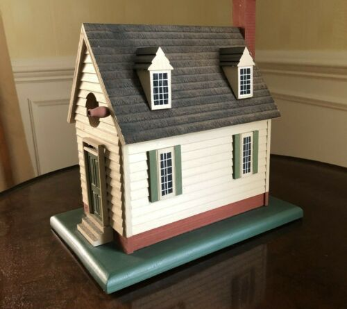A. Michael Ratcliffe Large Colonial Williamsburg  Early Bird Birdhouse