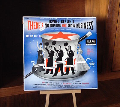 "Selections from the Sound Track of ""There's No Business Like Show Business"" - LP"