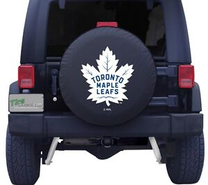 Toronto maple leafs jeep tire cover!
