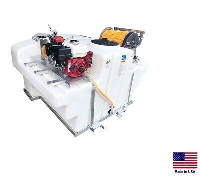 Sprayer Commercial - Skid Mounted - Truck Utv - 9.5 Gpm - 580 Psi - 400 Gallon