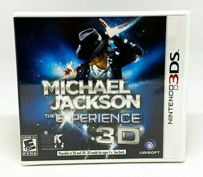 Michael Jackson The Experience 3D - Nintendo 3DS - Brand New   Factory Sealed