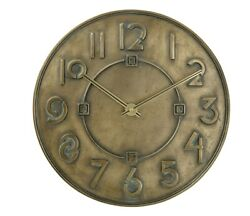 Bulova® Frank Lloyd Wright Exhibition Typeface Wall Clock  pk82