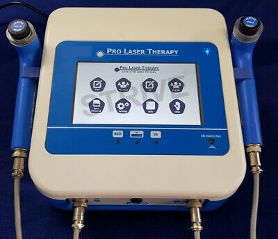 Low Level Laser Therapy Machine 2 Probe Red Laser Ir Laser Lllt