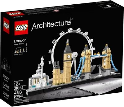 LEGO Architecture London 2017 (21034) **FREE SHIPPING!** New NIB Sealed!