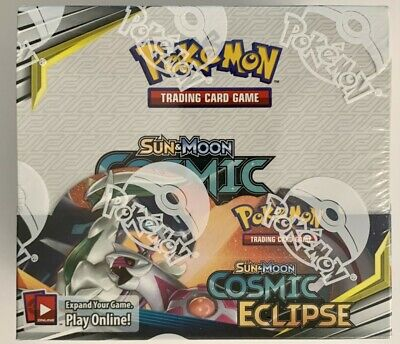 Pokemon TCG COSMIC ECLIPSE 36 ct BOOSTER BOX Factory Sealed
