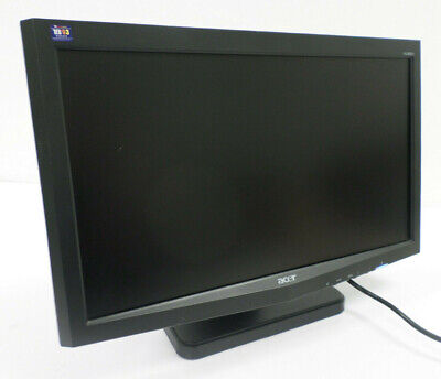 """ACER X183H 18.5"""" LCD Flat Panel VGA Computer Monitor 1366 x 768 **TESTED** for sale  Shipping to India"""