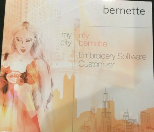 MY BERNETTE EMBROIDERY SOFTWARE CUSTOMIZER SOFTWARE