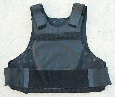 "GH Armor GH-HTP-5X8 Black Hard Armor Trauma Plate 5/""x 8/"""