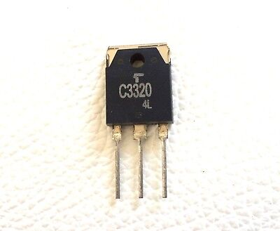 2SC2749 SI-N 500V 10A 100W 50MHz LOT OF 2