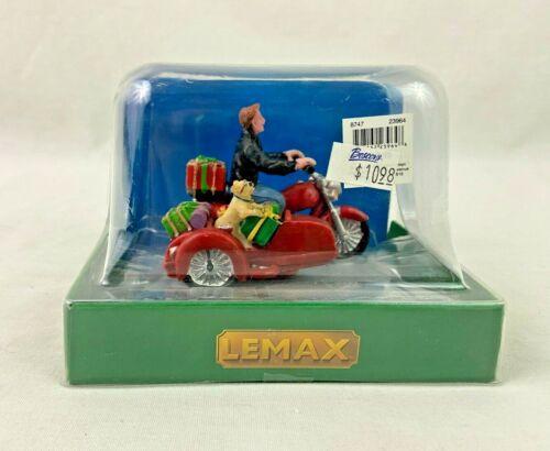 Lemax Village Side Car Santa 23964 2012 Christmas Collection