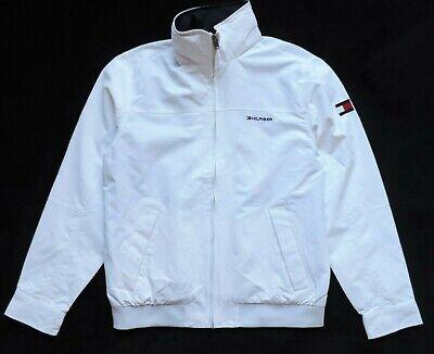Tommy Hilfiger Men's Yacht Jacket Windbreaker, White
